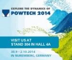 ¡Visítanos en POWTECH 2014!