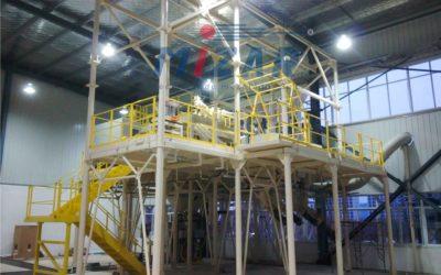 WUHAN – CHINA  Nueva instalación para la fabricación de morteros.