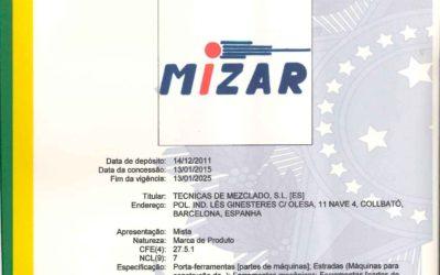 CONCESIÓN PROPIEDAD MARCA MIZAR EN BRASIL.
