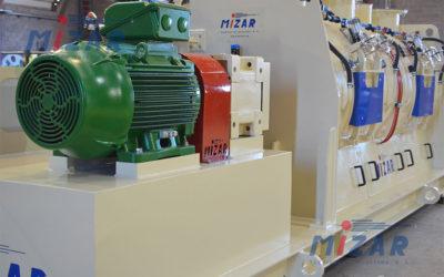 MH3000 Horizontal Shaft Mixer – Brasil