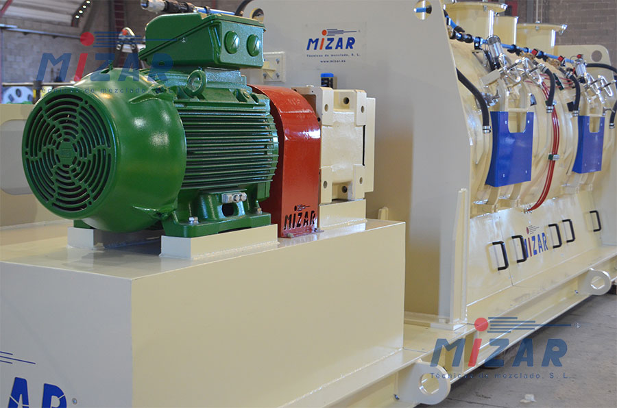 MH3000 Horizontal Shaft Mixer – Brasil
