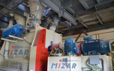 Planta morteros con mezcladora MIZAR MHT3000U – España
