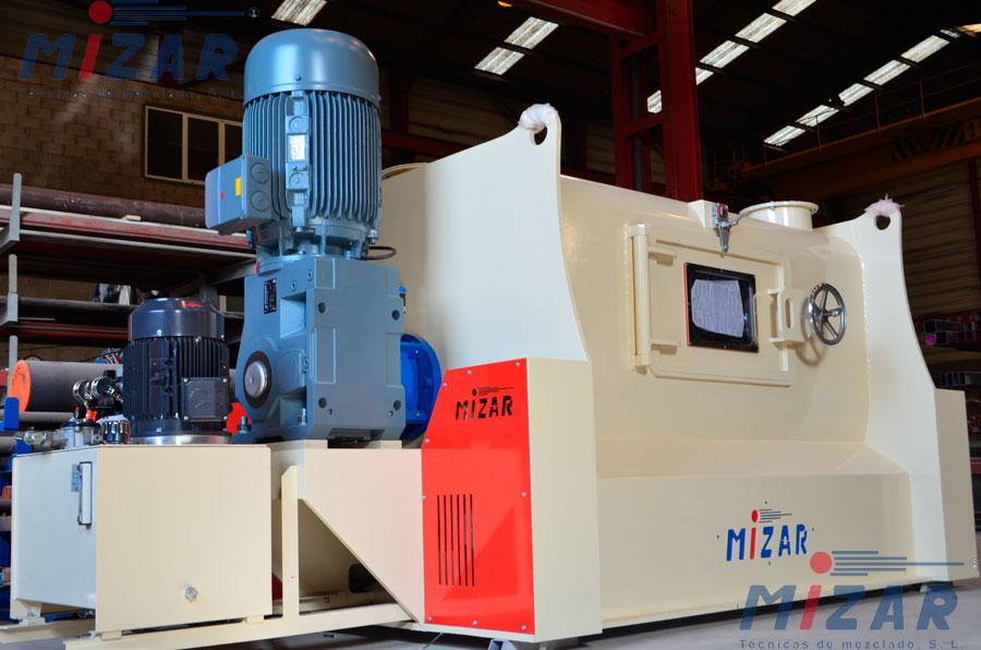 Mezcladora de eje horizontal MIZAR PHT2000U | España